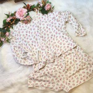 Victoria's Secret 2 Piece Short Pajama Set Size L